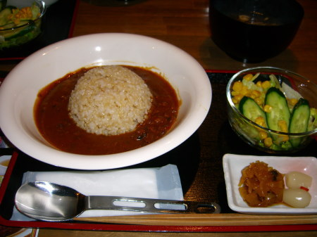 玄米薬膳キーマカレー(ナマラヤ)