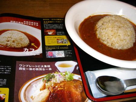 玄米薬膳キーマカレーと『WEEK! 2009.02.02号』