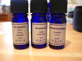 練香水精油3種