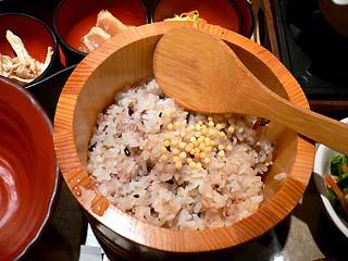 十穀米のご飯