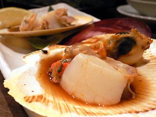 アサヒ貝の焼き物