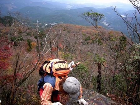 2008.11.9英彦山北西尾根 089