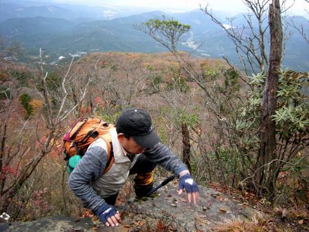 2008.11.9英彦山北西尾根 096
