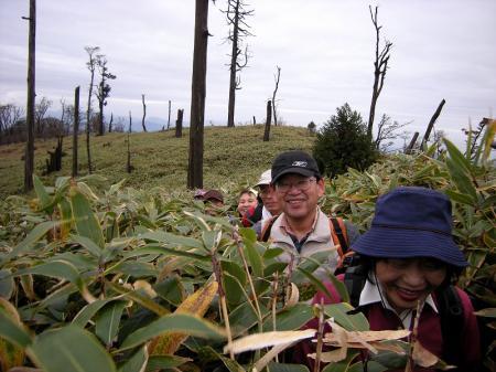 2008.11.9英彦山北西尾根 120