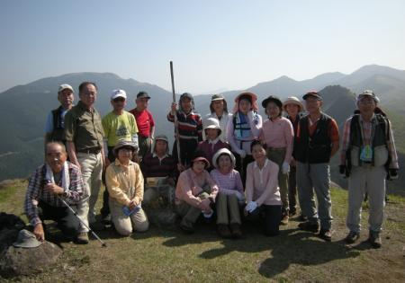 2009.4.19一の峯~冠ヶ岳 035