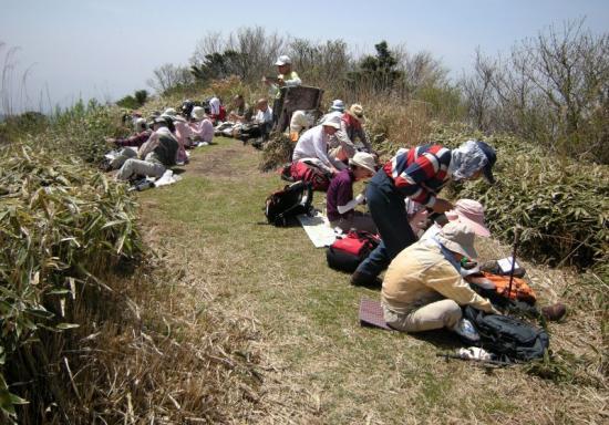 2009.4.19一の峯~冠ヶ岳 109