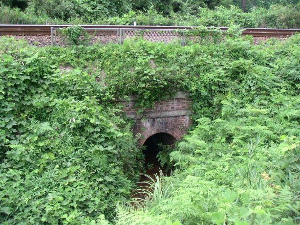 JR草津線油日付近の煉瓦橋梁