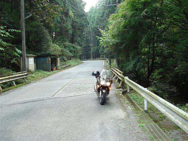 山奥のFJR1300