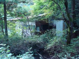 赤柴のうどん屋跡