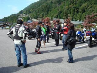 ECHOの皆さんとバイク