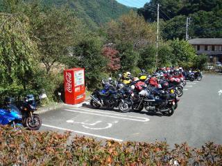 凄いバイクの数