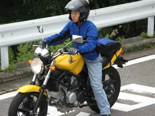 初めてのバイクツーリング