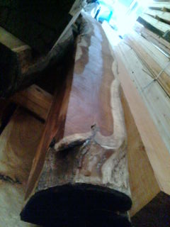 床柱桑工務店和室床の間落し掛け