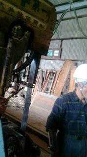 桑製材床の間材