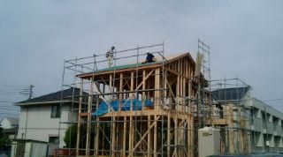 屋根ルーフィング防水S瓦野地合板