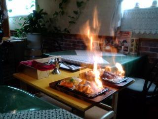 炎のハンバーグ
