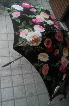 バラの傘2