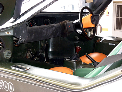 MAZDA RX-500のコクピット
