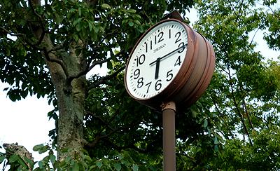 サンパルの時計
