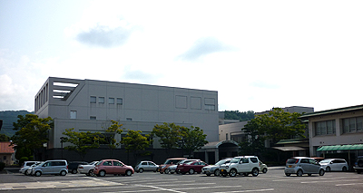 サンパルの建物