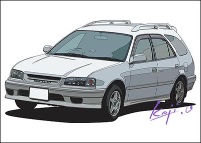 トヨタ スプリンター カリブ Sツーリング エアロスポーツリミテッド