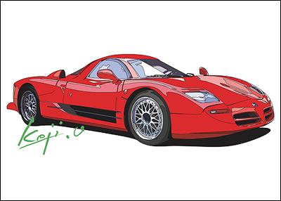 NISSAN R390GT1 Road Going Version 1995 model