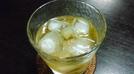 梅酒ロック