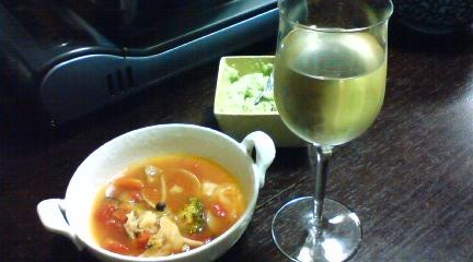 トマト鍋 (2)