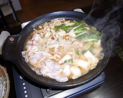 カキ・白子鍋