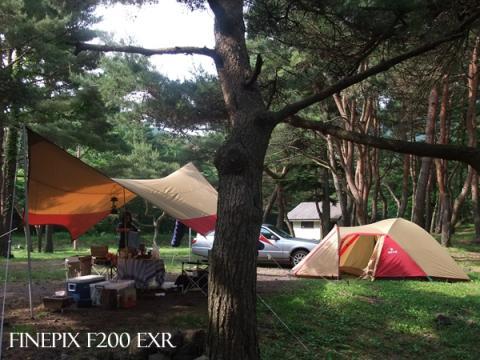 本栖湖Camp3