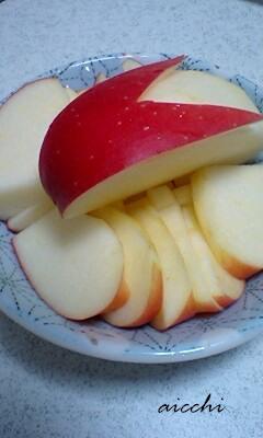 うさリンゴ