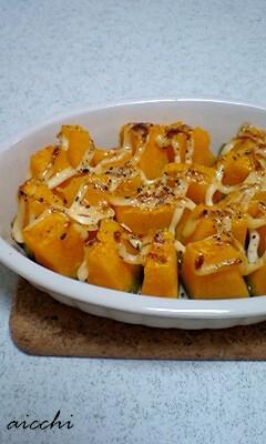かぼちゃのマヨ焼き