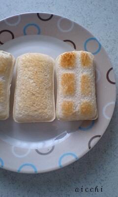 ピーナッツパン焼き