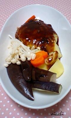ベジ豆腐ハンバーグ