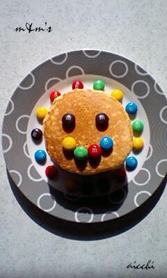 【m&ms】おからパンケーキ