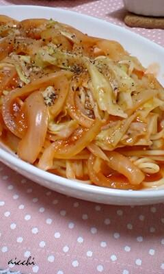 トマトパスタの食卓up