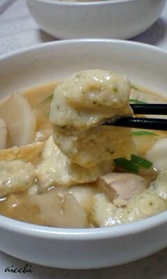 青海苔豆腐すいとんup