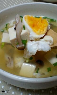 博多うまだし豆腐ときのこのうまスープup