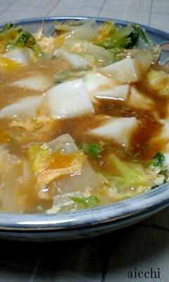 【博多うまだし】白菜とはんぺんの卵つゆだく煮醤油入れ過ぎ