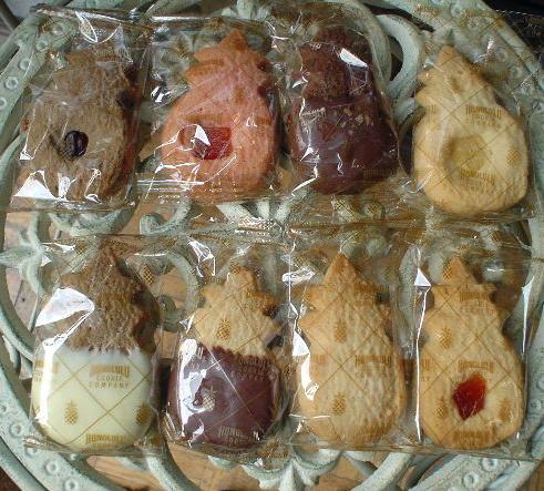 ハワイのクッキー