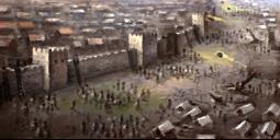 Eローマ城攻-総力戦