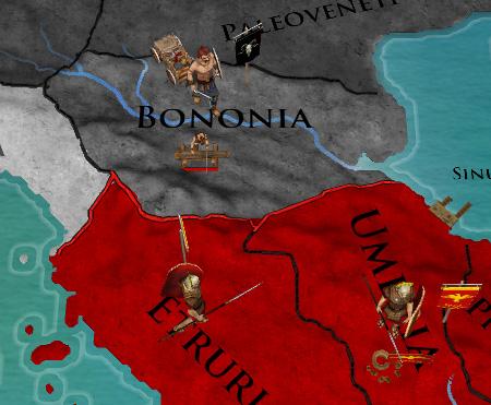 Eローマ蛮族襲来