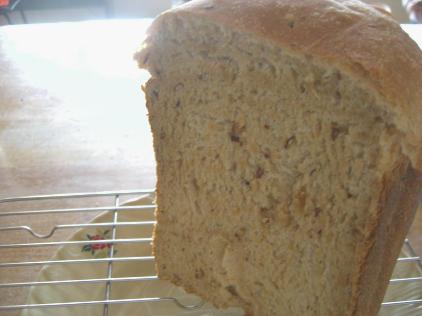 きなこと甘納豆のパン