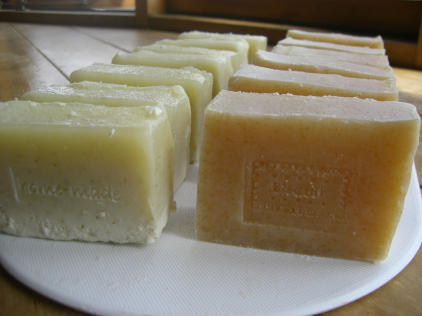 海藻石鹸&ミルク石鹸