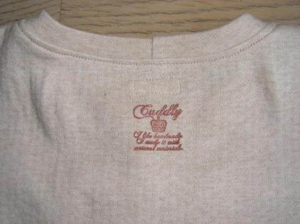 自然綿の半袖Tシャツ
