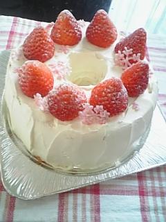 2008 クリスマスケーキ