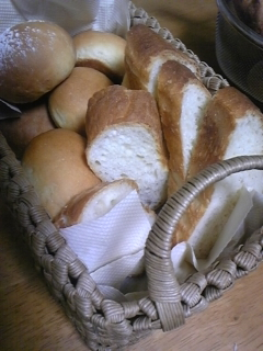 実家食事パン