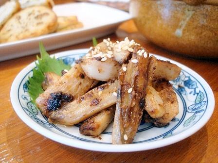 レンコン味噌炒め
