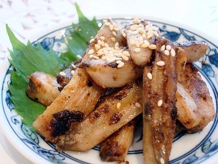 レンコン味噌炒め2