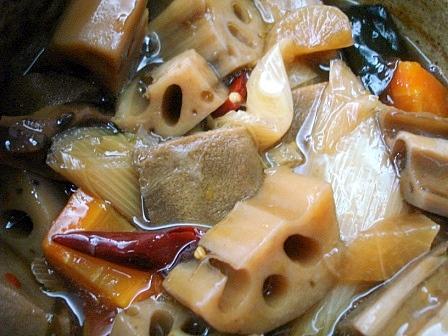 レンコン土鍋煮2